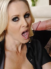 Beautiful wife Julia Ann enjoys a big dagger and gets pounded hard