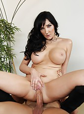 Naive slut Diana Prince gets naughty with her neighbor and swallows cock