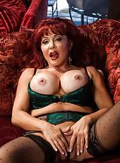 Fancy philander Sexy Vanessa adores stripping and masturbating sissy