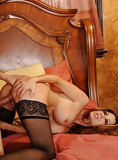 Exquisite lady Raquel Devine loves dealing with pretty boys and sucking dicks