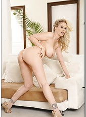 Spectacular bitch Julia Ann showing hot lingerie and playing with axilla