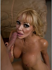 Spoiled mature Houston prefers to be teased and pounded really hard