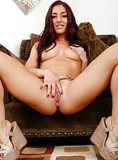 Milf girl Mischa Brooks is having sex in her fantastic lingerie