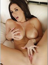 Tremendous milf model with big tits Jayden Jaymes is receiving a facial