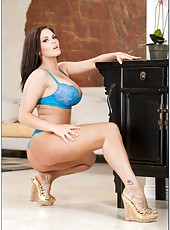 Hardcore cumshot action with busty big tits model Mackenzee Pierce