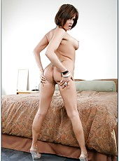 Group sex with smoking hot milf lady Tory Lane and her gang