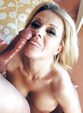 Big tits blondie Sammy Sparks enjoys a hardcore fuck with her lover