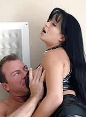 Wonderful milf beauty with big tits Mason Storm loves riding cock