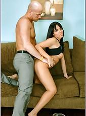 Good-looking milf Lorena Sanchez working with her friend