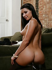 Marvelous milf Ann Marie Rios showing her awesome ass and riding a big dick