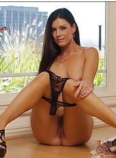 Carnal bitch India Summer showing small tits and acting dirty on camera