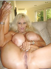 Stunning milf with yummy boobies Tia Gunn loves fucking with young guys