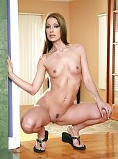 Sensate slut Brandi Lyons prefers to be drilled in her friend