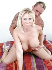 Gentle milf Devon Lee working with her friend