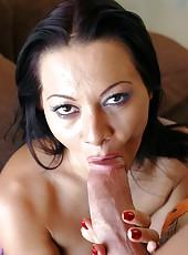 Finger licking tasty slut Sandra Romain getting nailed like never before