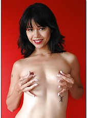 Small-titted pornstar Dana Vespoli banging in various positions to reach orgasm