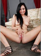 Sweet babe Milla Mason prefers sucking yummy peckers and getting cumshots