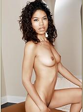 Beautiful slut Carmella Santiago pleasing her boyfriend with a blowjob
