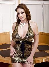 Zealous milf Eva Notty likes fucking with sexy fellows and sucking balls