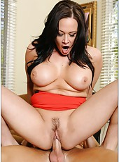Winning milf Tory Lane showing what she can do with big delicious peckers