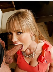 Jolly milf Maya Hills showing her skills and making a guy satisfied