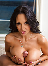 Goodly milf Ava Addams hanging out with neighbors and making deepthroats
