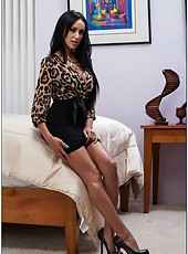 Breanne Benson enjoys masturbating in her bedroom and fucking with neighbors
