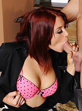 Winning milf Jessica Ryan gets her pussy licked and fucked really tough