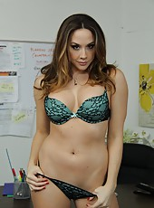 Goodly milf Chanel Preston enjoys sucking tasty rods and getting pounded
