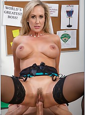 Cuddly Brandi Love spreading vagina and waiting for a yummy wiener