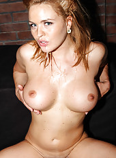 Anal sex with a stunning hardcore milf Krissy Lynn that is getting two poles