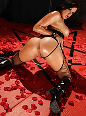 Cryptic and exciting striptease scene with Lea Lexis and Tory Lane