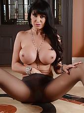 Skillful pornstar Eva Karera prefers masturbating when she is all alone