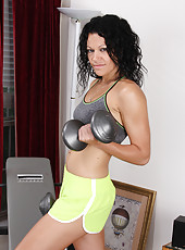After a good workout 30 year old Naira Smith relaxes her warm box
