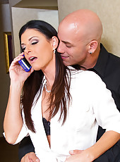 India Summer is out of town for business. She has to stay an extra night and she let