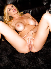 Julia Ann and her husband Rocco have discussed having a threesome for a long, long time now, and while having a post-dinner talk about Rocco's friend Bill, Julia's ready for the real thing. The couple invite Bill over and surprise him with horny