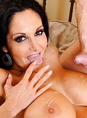 Ava Addams calls her son's friend over to help her fix a light in her bedroom. In reality, Ava just wanted some cock and she used the broken light as a ploy to get him over. Ava knows that her son's friend wants her because she always catches hi