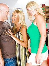 Once Misty Vonage gets the taste of hot young cock in her mouth with her son's friend Alan, she decides she wants to get lucky with another of Tommy's friends: Derrick. So when he asks if it's ok if he brings his girlfriend, Juliana Jolene,