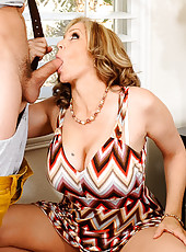 Julia Ann caught her son