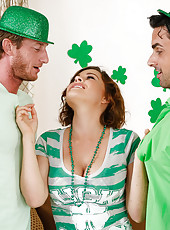 Krissy is throwing a party for Saint Patrick's day and she had both Ryan's pick up some decorations. While Mr. Driller goes to grab his balloons from the car she makes a move on Mclane. Not to be one-upped by his buddy, Mclane goes out to grab h