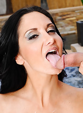 Tyler is cleaning up Ava Addams