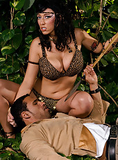 Alia The Mamazon Warrior Learns To Fuck