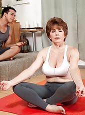 Bea Takes A Yoga Class