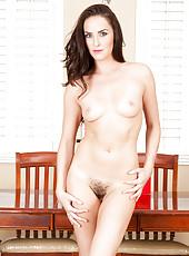 Bianca Breeze spreads open her juicy trimmed twat for your viewing pleasure