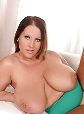 Laura M. Plays With Her Large Nips