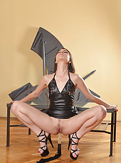 Lorena Masturbates with a Flogger
