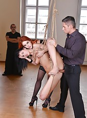 Amarna Miller & Meg Magic threesome