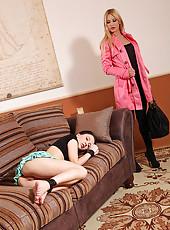 Mistress Punishes Slavegirl's Holes