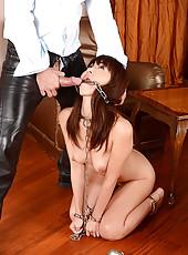 Japanese Slavegirl Gets A Spanking