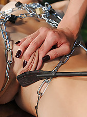 Mistress Puts A Crop To Sub